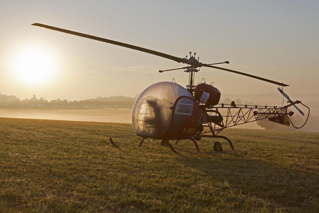 Bell 47-G2 D-HELO